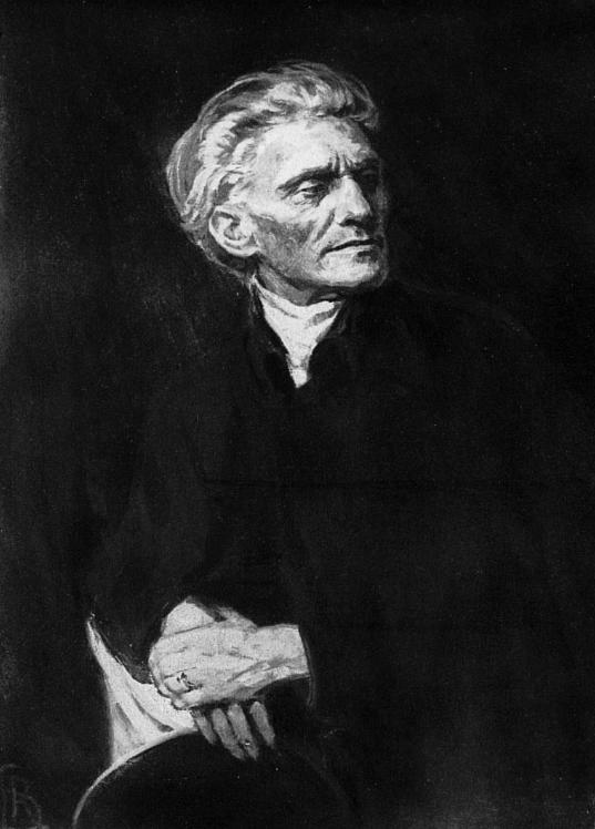 Stefan George (Reinhold Lepsius).